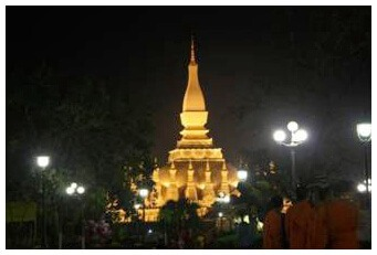 That Luang: landmark of traditional Vientiane