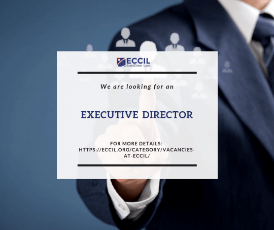 Vacancy announcement- Executive Director - European Chamber of